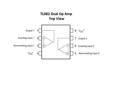 TL082 Block Diagram - Large