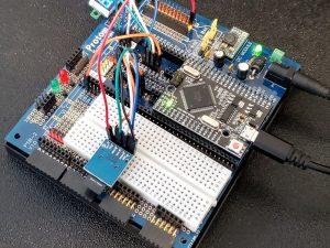 MicroSD Card Module - In Use