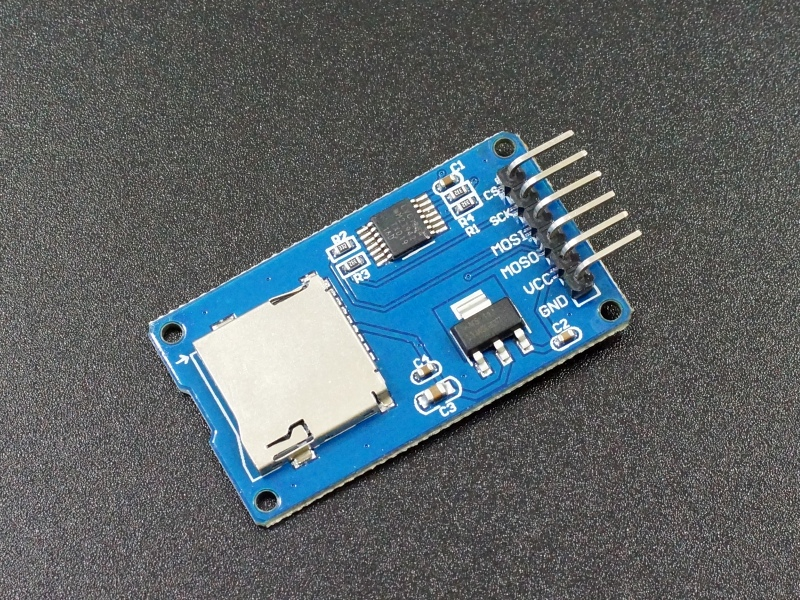 MicroSD Card Module with Level Shifter