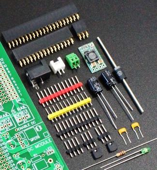 Mega 2560 Pro Green MCU Component Kit