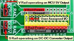 Mega 2560 Pro Green MCU - Power Rails Source Selection 2