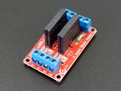 Solid State Relay Module 2 x 5V