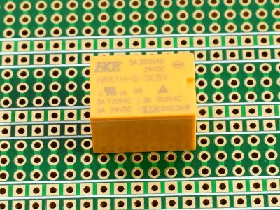HRS1H-S-DC5V 3A Relay - On Perf Board
