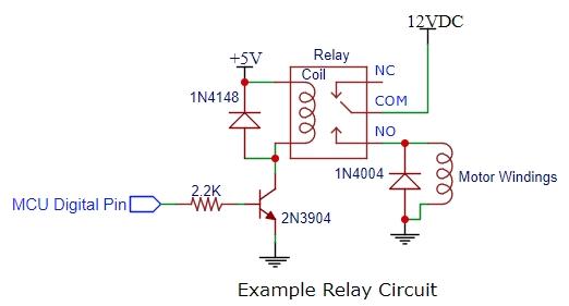 Relay Example Circuit