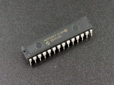 MCP23017 16-Bit GPIO with I2C Interface