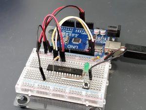MCP23017 16-Bit GPIO with I2C Interface - In Use