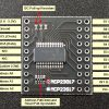 MCP23017 16-bit GPIO with I2C Interface Module - Connections