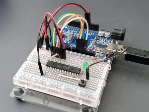 MCP23S17 16-Bit GPIO with SPI Interface - In Use