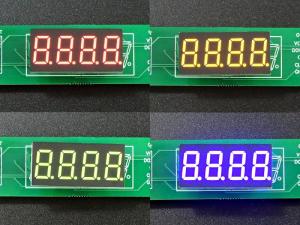 LED 7-Segment 0.36 x 4 - Color Composite