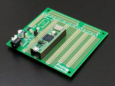 MCU Proto board with 3.3 and 5V Power with Teensy 4.1