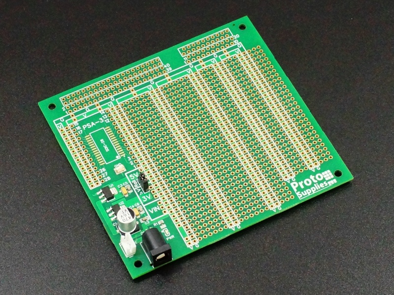 MCU Proto board with 3.3 and 5V Power