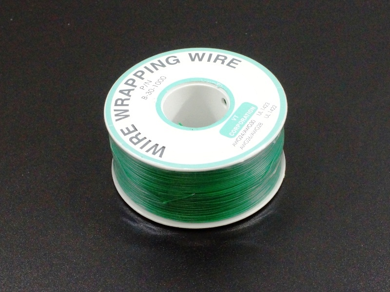 Wire Wrapping Wire Green 230M