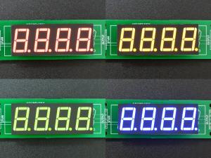 LED 7-Segment 0.56 x 4 - Color Composite