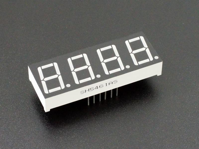 LED 7-Segment 0.56 x 4-Digit