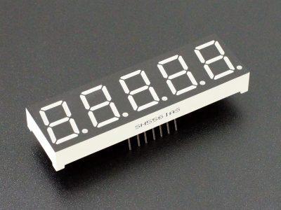 LED 7-Segment 0.56 x 5 -Digit