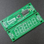 MAX7219 0.56 3-4 Digit 7-Segment Display Board - Top and Bottom