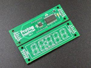 MAX7219 0.56 5 Digit 7-Segment Display Board - Top and Bottom