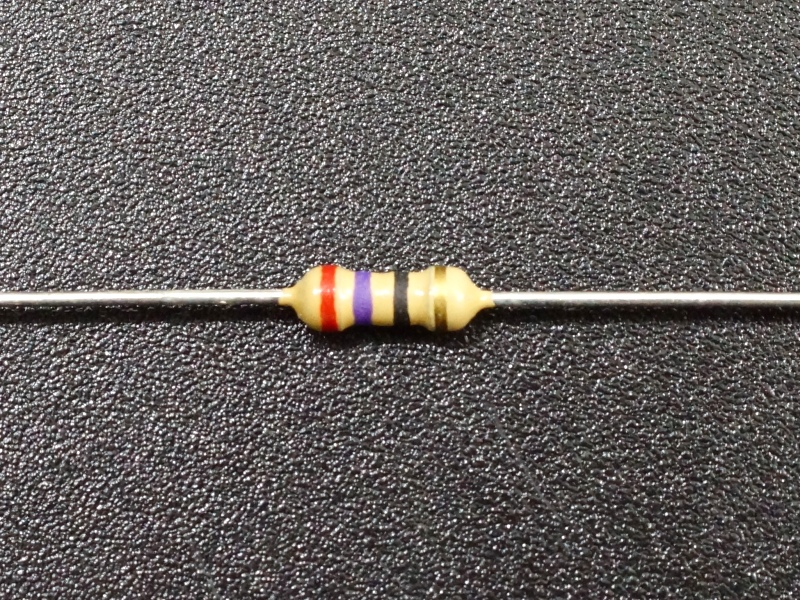 Resistor 27 Ohm 5%